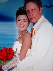 White guy married her long time Thai gf